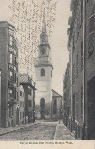 BOSTON , Massachusetts , 1907; Christ Church ( Old North )
