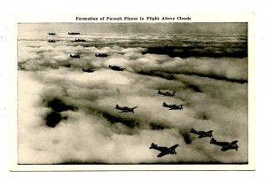 Military - Pursuit Planes in Flight
