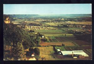 La Crosse, Wisconsin/WI Postcard, View Of Three States From Grandad Bluff