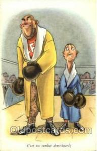 Serie No. 805 Boxing Postcard Post Cards Old Vintage Antique Postcard  Serie ...