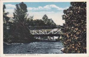 Ellenville Creek Bridge - Ellenville NY, New York - WB