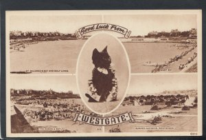 Kent Postcard - Good Luck From Westgate     RS18565