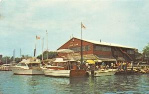 Maryland, St. Michaels, The Crab Claw, Inc., Restaurant, boats bateaux 1979