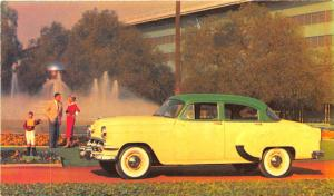 1954 Chevrolet One-Fifty 4-Door Sedan Advertising Postcard