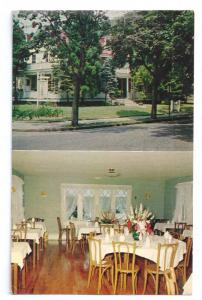 Cape May NJ Washington Inn Dining Room Restaurant Postcard