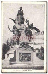 Old Postcard Paris Victor Hugo