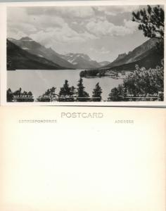 Cedar Court Lakes Alberta Kanada Vintage RPPC Echt Foto Postkarte