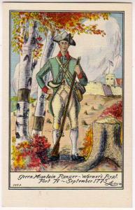 Green Mountain Ranger, Warner's Regt