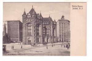 Shelton Square, Buffalo, New York, H L Woehler