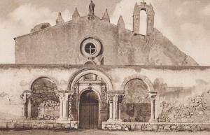 St Jean  Giovanni Et Catacombe War Censor Kirche Postmark Postcard