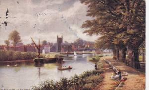 TUCK #7121 , Picturesque Thames Series , England , PU-1906 ; ISLEWORTH