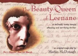 The Beauty Queen Of Leenane Play New Vic Theatre Gala Poster Postcard Style Card