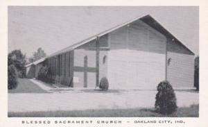 Indiana Oakland City Blessed Sacrament Church