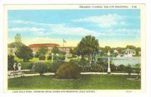 Lake Eola Park,Band Stand,High School,Orlando,FL,10-20s