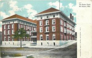 Mc Alester Oklahoma~The Busby Hotel~1914 Postcard
