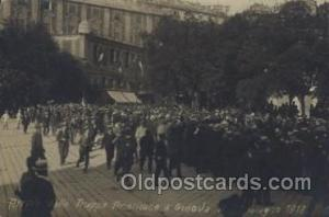 Arrivo delle Truppe American a Genova 1918,  Military, WW I, World War I, Pos...