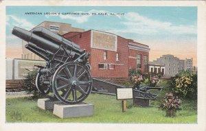 Illinois De Kalb American Legion's Captured Gun sk5555