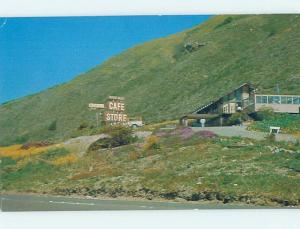 Pre-1980 CAFE STORE AT PACIFIC VALLEY CENTER Big Sur - Near Carmel CA hp0425