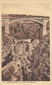 Algeria Constantine Les Ponts d'El Kantara