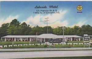 South Carolina Summerton Lakeside Motel