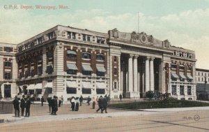 WINNIPEG , Manitoba , Canada , 1900-10s ; C.P.R. Depot #2