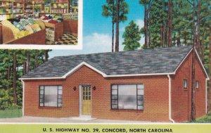 CONCORD, North Carolina, 1950-1960's; Towel Shop, U.S. Highway No 29