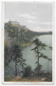 The Cliff House Lake Minnewaska NY Phostint Detroit Publishing Co Postcard