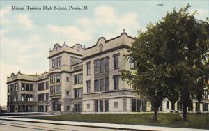 Illinois Peoria Manual Training School Curteich