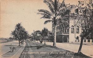 South Africa Bay Esplanade showing Marine Hotel Durban Promenade