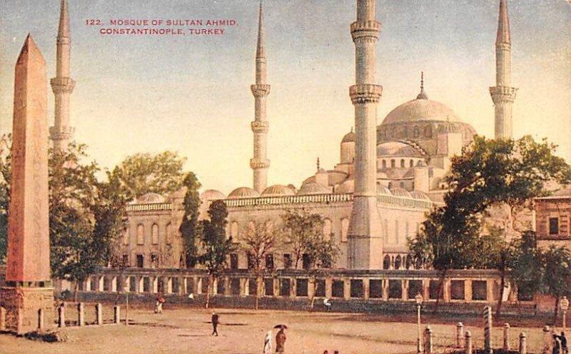 Mosque of Sultan Ahmid Constantinople Turkey Unused
