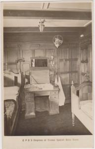 RP; C.P.O.S. EMPRESS of FRANCE , Special State Room, 1920-1940s