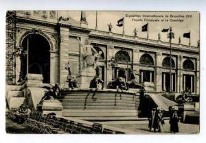 158403 Belgium BRUSSELS Exhibition 1910 Facade Principale OLD