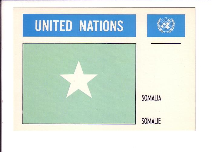 Somalia, Flag, United Nations