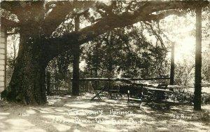 c1920 RPPC Jack London's Hammock, London Ranch, Glen Ellen CA Sonoma County