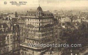 Cecil Hotel Bruxelles, Belgium Unused