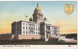 Rhode Island Providence State Capitol