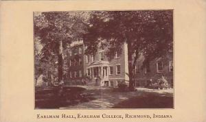 Exterior, Earlham Hall, Earlham College, Richmond, Indiana,00-10s