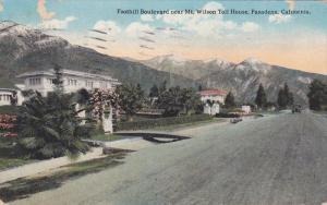 Foothill Boulevard newar Mt. Wilson Toll House Pasadena, California, PU-1922
