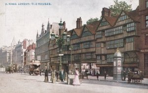 LONDON, England, 1900-1910s; Old Houses