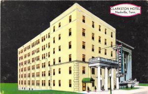 Nashville Tennessee~Clarkston Hotel (Ingram-Cunningham)~Coffee Shop Inside~1950s