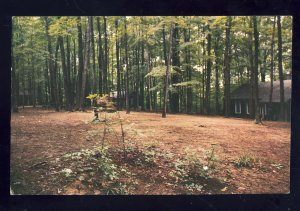 Spenser, Indiana/IN Postcard, Camp McCormick, McCormick's Creek State Park