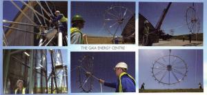 Panorama Size Cornwall Postcard, The Gaia Energy Centre, Delabole OS111