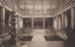 BOSTON, Massachusetts, 1900-10s; Japanese Garden, Museum of Fine Arts