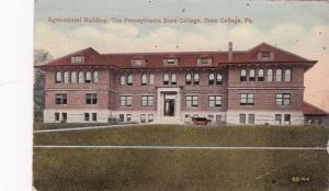 STATE COLLEGE , Pennsylvania , 1919 ; Agricultural Building , Penn State College