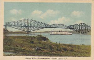 Canada Quebec Pont de Quebec Bridge
