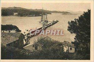 Old Postcard The Islands of Hyeres (Var) French Riviera La Douce France Porqu...