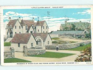W-Border HISTORIC HOME Newport Rhode Island RI W4755