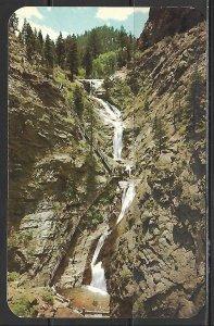 Colorado, Colorado Springs - Seven Falls In South Cheyenne Canon - [CO-371]