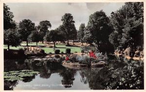 CLIFTONVILLE KENT UK THE LAKE AT DANE PARK PHOTO POSTCARD