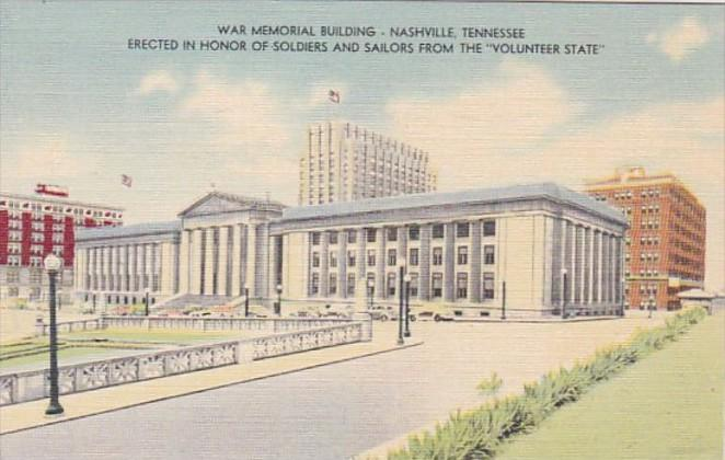Tennessee Nashville War Memorial Building